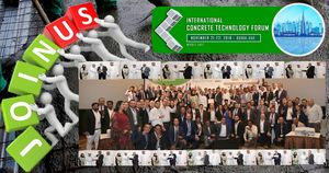 International Concrete Technology Forum – November 21-22, 2018 – Dubai, UAE