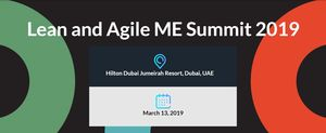 Lean and Agile ME Summit 2019 - Extra Early Registration
