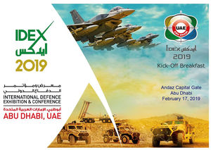 Abu Dhabi International Defence Exhibition (IDEX) Kick-Off Breakfast