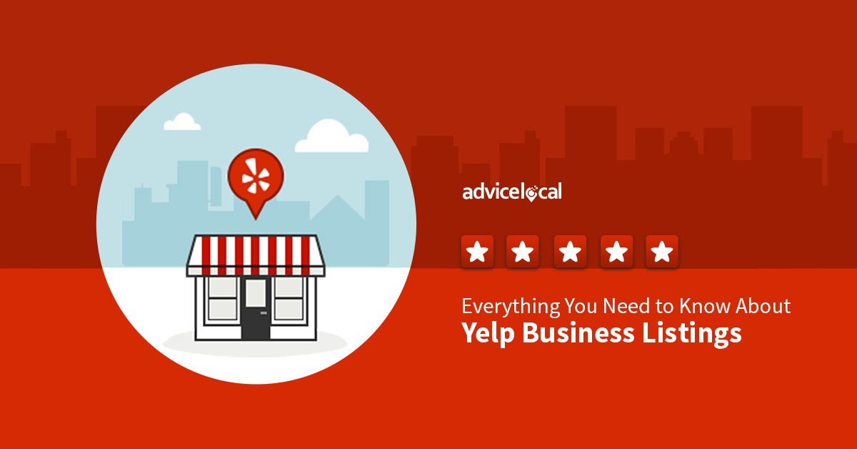 Why does Yelp and other business listings matter for local businesses