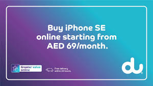 Buy iPhone SE for business from AED 69 / month