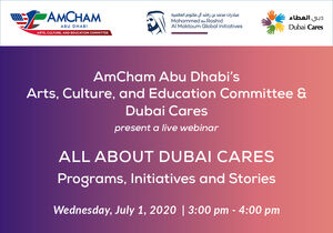 AmCham Abu Dhabi ACE Committee and Dubai Cares present a Webinar All About Dubai Cares