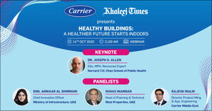 Join us for a one day webinar Healthy Buildings-A Healthier Future Starts Indoors