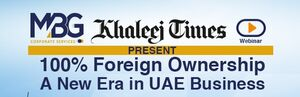 Webinar on 30th June   100 Percent Foreign Ownership – A new era in UAE Business